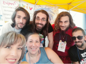 Crispiano Comix ViviComics Staff