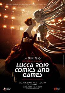 Lucca Comics 2019 locandina