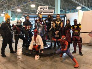 Real Superheroes Live Real Avengers